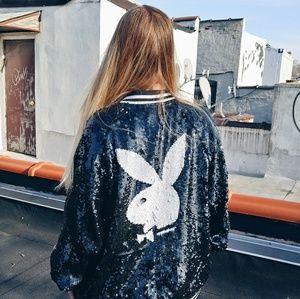 Joyrich x Playboy Allover Sequin Jacket